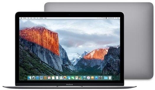 MacBook kozmický sivý