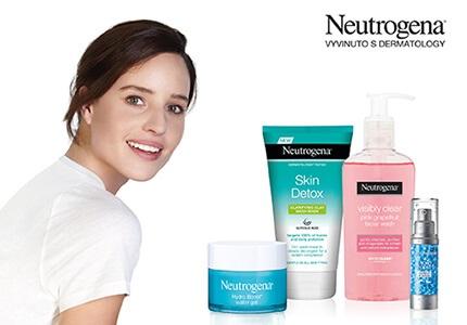 Kosmetika Neutrogena - péče o pleť