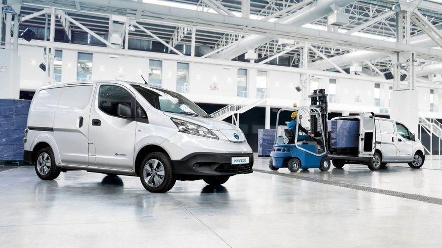 Elektrická dodávka Nissan e-NV200