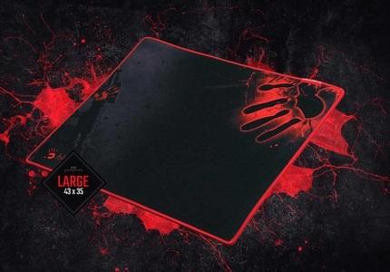 Herní podložka pod myš v designu Blood od A4tech