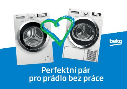 Práčka a sušička Beko