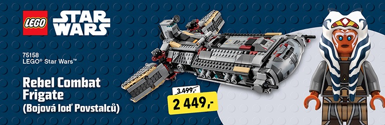 LEGO Star Wars Rebel Combat Frigate
