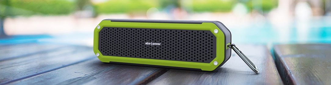 waterproof AlzaPower Bluetooth speaker