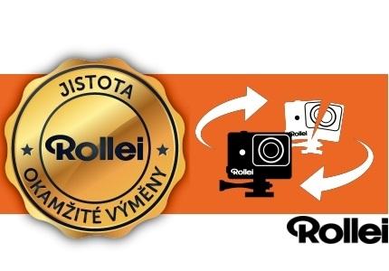 Rollei: jistota okamžité výměny akční kamery