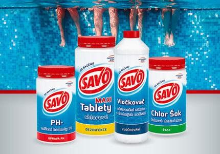 SAVO bazénová chemie
