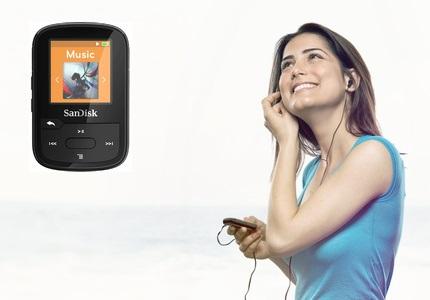 MP3 přehrávač SanDisk