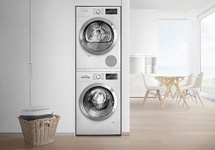 Pračka a sušička Bosch