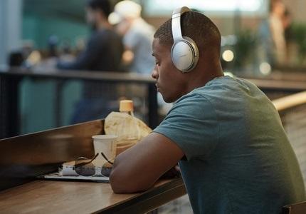 Sluchátka BOSE s redukcí okolního ruchu