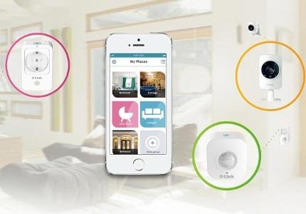 Chytrá domácnost D-Link Connected Home