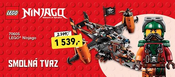 LEGO Ninjago smolná tvrz