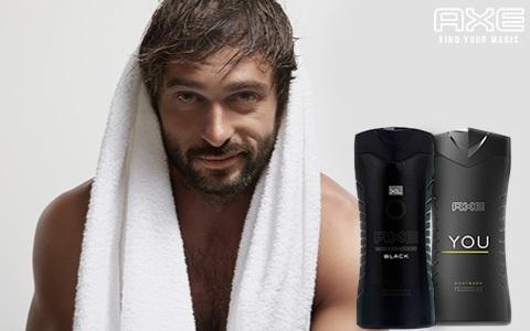 Sprchové gely a mýdla AXE