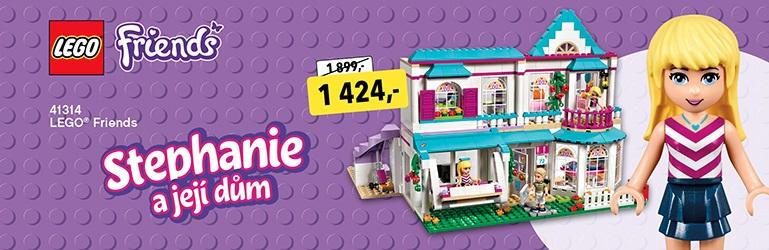 LEGO Stephanie a její dům