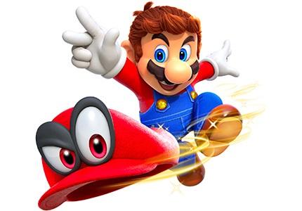 Hry na Nintendo Switch - Super Mario
