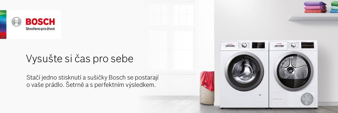 Sušičky Bosch - Vysušte si čas pro sebe.