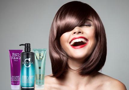 TIGI Šampony a kondicionéry