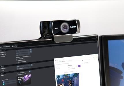 Webkamera Logitech