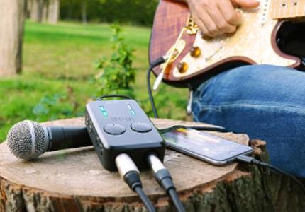 Zvukové karty iRig