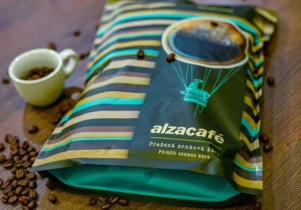 Nový znovu uzavíratelný obal AlzaCafé