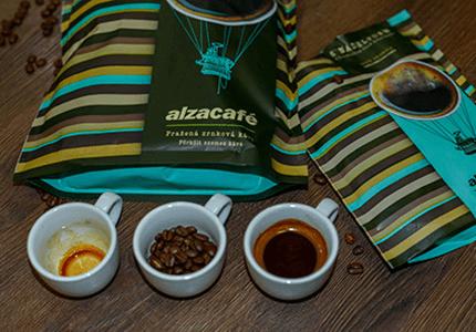 AlzaCafé - 100 % Arabica