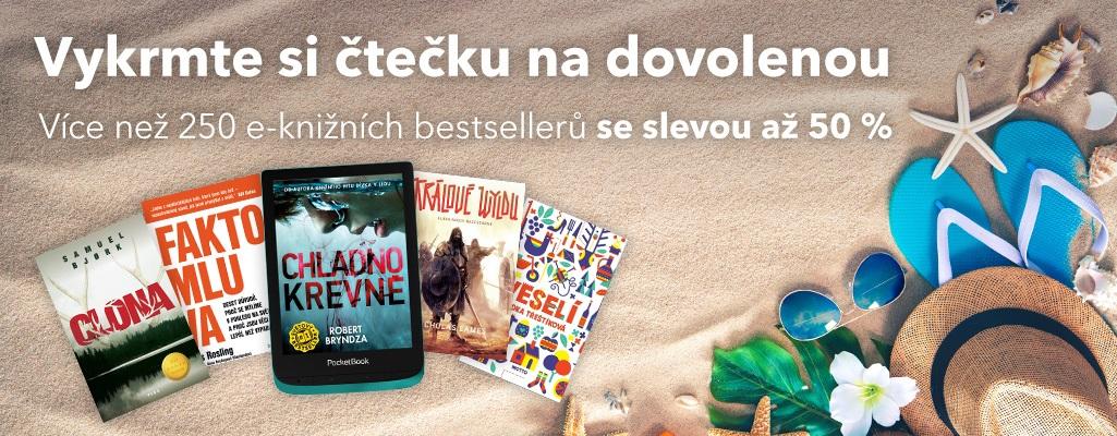 E-knihy sleva letní čtení