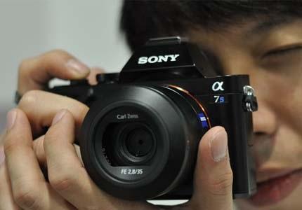 Bezzrcadlovka Sony Alpha A7s