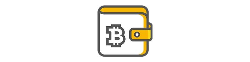 bitcoin peněženka, grafika