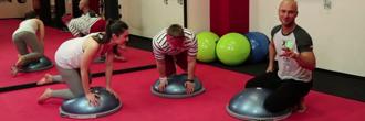 Jak cvičit na BOSU