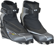 Cross-country skating boots