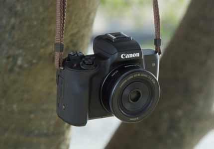 Bezzrcadlovky Canon