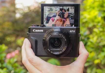 Profesionální digitální kompaktní fotoaparát Canon PowerShot G7 X Mark II