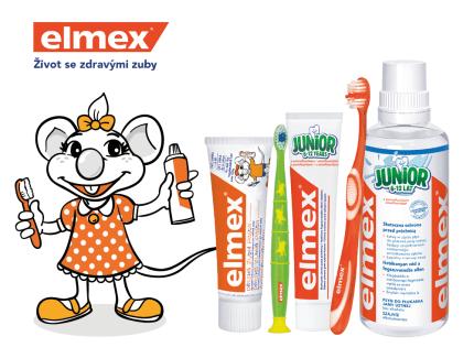 elmex péče o dětské zoubky