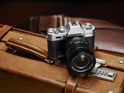 Prémiové fotoaparáty Fujifilm X series