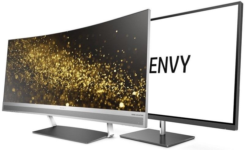 nov designov monitory hp envy 27s a envy 34. Black Bedroom Furniture Sets. Home Design Ideas