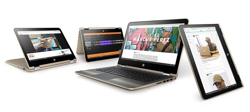 HP Pavilion 13-u003nc x360; Windows 10; nový notebook; výhody nového notebooku; konvertibilní notebook