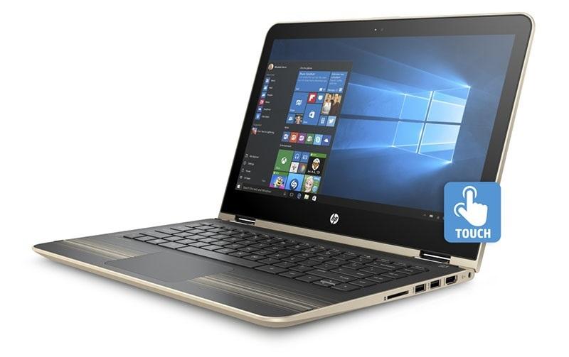 HP Pavilion 13-u003nc x360; dotykový displej; moderní notebook
