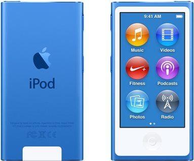 iPod Nano modrý