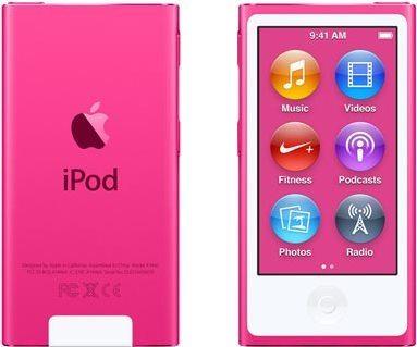 iPod Nano růžový