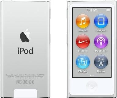 iPod Nano stříbrný