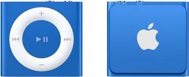iPod Shuffle modrý