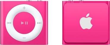 iPod Shuffle růžový
