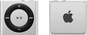 iPod Shuffle stříbrný