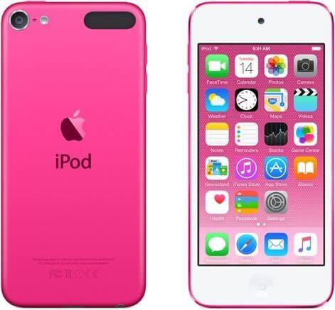 iPod Touch růžový