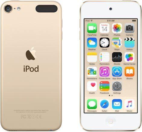 iPod Touch zlatý