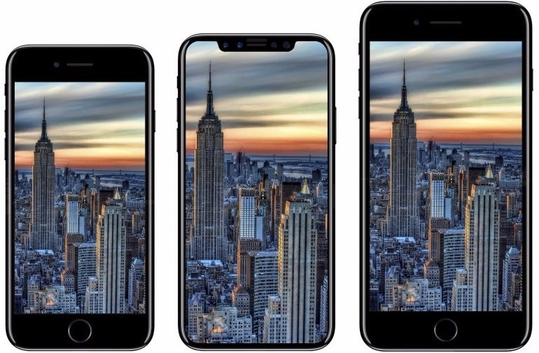 iPhone 8, iPhone X Edition a iPhone 8 Plus