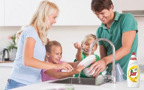 Přípravky na mytí nádobí Jar