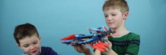 LEGO Nexo Knights 70351 Clayovo lietadlo s Hugom a Hubertom