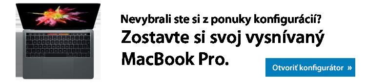Konfigurátor MacBook Pro