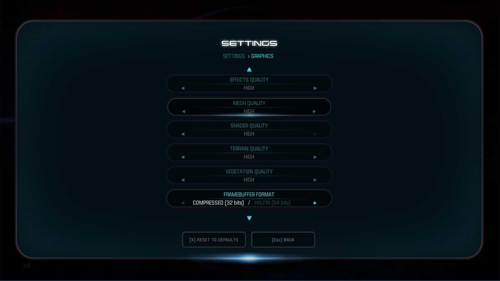 Mass Effect: Andromeda nastavení 5