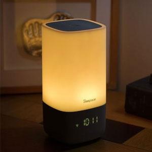 monitor spánku v lampě