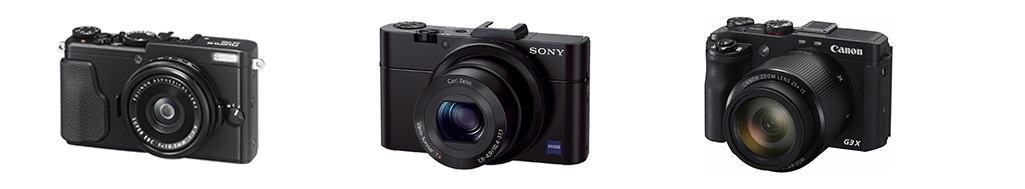 a professional compact-cameras-Fujifilm-canon-sony